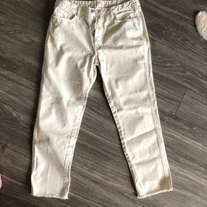 Off White Free People Jeans